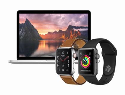 MacBook&アップルウォッチ、他PC