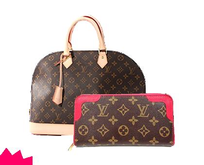 ルイ・ヴィトンのバッグ、財布